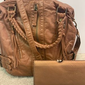 SALE🎉 Brown Hobo Bag with Wallet